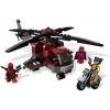 LEGO 6866 - LEGO MARVEL SUPER HEROES - Wolverine's Chopper Showdown