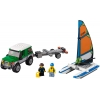 LEGO 60149 - LEGO CITY - 4x4 with Catamaran