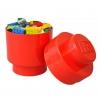 LEGO 299082 - LEGO STORAGE - Lego Storage Brick 1 Round Red