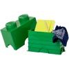 LEGO 299088 - LEGO STORAGE & ACCESSORIES - Lego Storage Brick 2 Dark Green