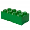 LEGO 299092 - LEGO STORAGE & ACCESSORIES - Lego Storage Brick 8 Dark Green