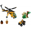 LEGO 60158 - LEGO CITY - Jungle Cargo Helicopter