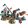 LEGO 4181 - LEGO PIRATES OF THE CARIBBEAN - Isla De la Muerta