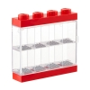 LEGO 299074 - LEGO STORAGE & ACCESSORIES - Lego Minifigure Display Case 8 Red