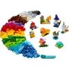 LEGO 11013 - LEGO CLASSIC - Creative Transparent Bricks