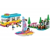 LEGO 41681 - LEGO FRIENDS - Forest Camper Van and Sailboat