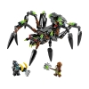 LEGO 70130 - LEGO LEGENDS OF CHIMA - Sparratus' Spider Stalker