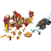 LEGO 70146 - LEGO LEGENDS OF CHIMA - Flying Phoenix Fire Temple