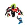 LEGO 44024 - LEGO HERO FACTORY - TUNNELER Beast vs. SURGE