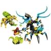 LEGO 44029 - LEGO HERO FACTORY - QUEEN Beast vs. FURNO, EVO & STORMER