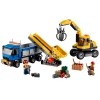 LEGO 60075 - LEGO CITY - Excavator and Truck