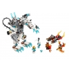 LEGO 70223 - LEGO LEGENDS OF CHIMA - Icebite's Claw Driller