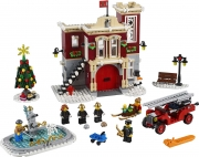 LEGO 10263 - LEGO EXCLUSIVES - Winter Village Fire Station