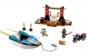LEGO 10755 - LEGO JUNIORS - Zane's Ninja Boat Pursuit