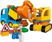 LEGO 10812 - LEGO DUPLO - Truck & Tracked Excavator
