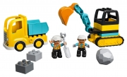 LEGO 10931 - LEGO DUPLO - Truck & Tracked Excavator