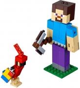 LEGO 21148 - LEGO MINECRAFT - Minecraft™ Steve BigFig with Parrot