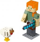 LEGO 21149 - LEGO MINECRAFT - Minecraft™ Alex BigFig with Chicken