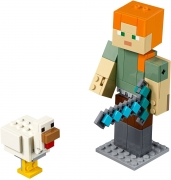 LEGO 21149 - LEGO MINECRAFT - Minecraft™ Alex BigFig with Chicken