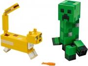 LEGO 21156 - LEGO MINECRAFT - BigFig Creeper™ and Ocelot