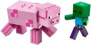 LEGO 21157 - LEGO MINECRAFT - BigFig Pig with Baby Zombie