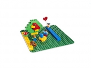 LEGO 2304 - LEGO DUPLO - Large Green Building Plate