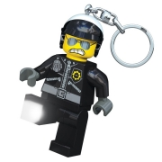 LEGO 298027 - LEGO STORAGE & ACCESSORIES - LEGO Movie Bad Cop Key Light