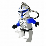LEGO 298047 - LEGO STORAGE & ACCESSORIES - Star Wars Clone Captain Rex  Key Light