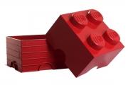 LEGO 299024 - LEGO STORAGE & ACCESSORIES - Lego Storage Brick 4 Red