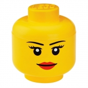 LEGO 299042 - LEGO STORAGE & ACCESSORIES - Lego Storage Head Small Girl