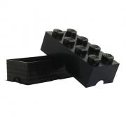 LEGO 299047 - LEGO STORAGE & ACCESSORIES - Lego Storage Brick 8 Black