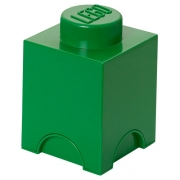 LEGO 299081 - LEGO STORAGE & ACCESSORIES - Lego Storage Brick 1 Dark Green
