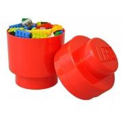 LEGO 299082 - LEGO STORAGE & ACCESSORIES - Lego Storage Brick 1 Round Red