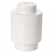 LEGO 299087 - LEGO STORAGE & ACCESSORIES - Lego Storage Brick 1 Round White
