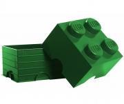 LEGO 299089 - LEGO STORAGE & ACCESSORIES - Lego Storage Brick 4 Dark Green