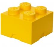 LEGO 299098 - LEGO STORAGE & ACCESSORIES - Lego Storage Brick 4 Yellow