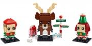 LEGO 40353 - LEGO BRICKHEADZ - Reindeer, Elf and Elfie