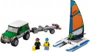 LEGO 60149 - LEGO CITY - 4x4 with Catamaran