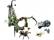 LEGO 70133 - LEGO LEGENDS OF CHIMA - Spinlyn's Cavern