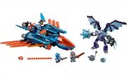 LEGO 70351 - LEGO NEXO KNIGHTS - Clay's Falcon Fighter Blaster