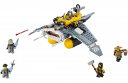 LEGO 70609 - LEGO THE LEGO NINJAGO MOVIE - Manta Ray Bomber