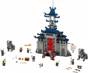 LEGO 70617 - LEGO THE LEGO NINJAGO MOVIE - Temple of the Ultimate Ultimate Weapon