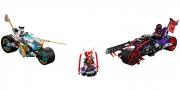 LEGO 70639 - LEGO NINJAGO - Street Race of Snake Jaguar