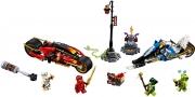 LEGO 70667 - LEGO NINJAGO - Kai's Blade Cycle & Zane's Snowmobile