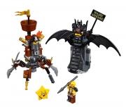 LEGO 70836 - LEGO THE LEGO MOVIE 2 - Battle Ready Batman™ and MetalBeard