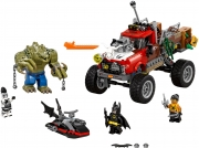 LEGO 70907 - LEGO THE LEGO BATMAN MOVIE - Killer Croc™ Tail Gator