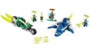 LEGO 71709 - LEGO NINJAGO - Jay and Lloyd's Velocity Racers