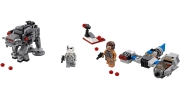 LEGO 75195 - LEGO STAR WARS - Ski Speeder vs. First Order Walker Microfighters