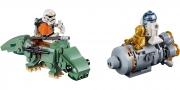 LEGO 75228 - LEGO STAR WARS - Escape Pod vs. Dewback™ Microfighters