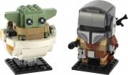 LEGO 75317 - LEGO BRICKHEADZ - The Mandalorian™ & The Child